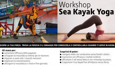 workshop yoga e kayak   7, 21 novembre, 5, 12 dicembre