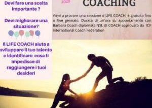 PROVA UNA SESSIONE DI COACHING GRATUITA!