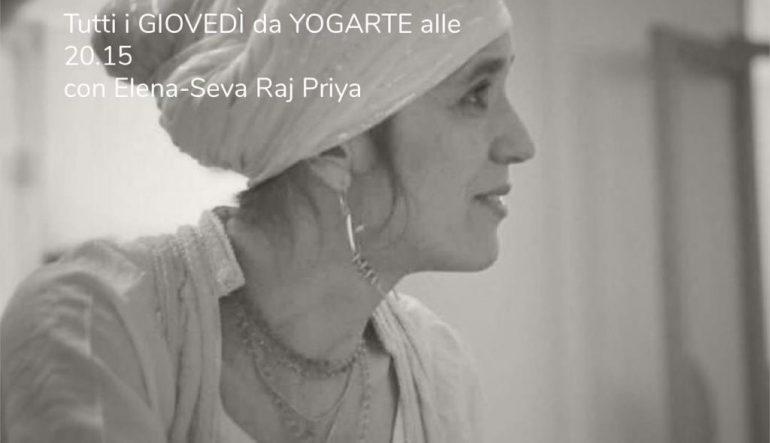 Nuova lezione di Kundalini Yoga con Elena tutti i giovedì alle 20.15